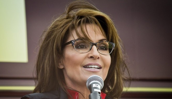 Sarah Palin new glasses