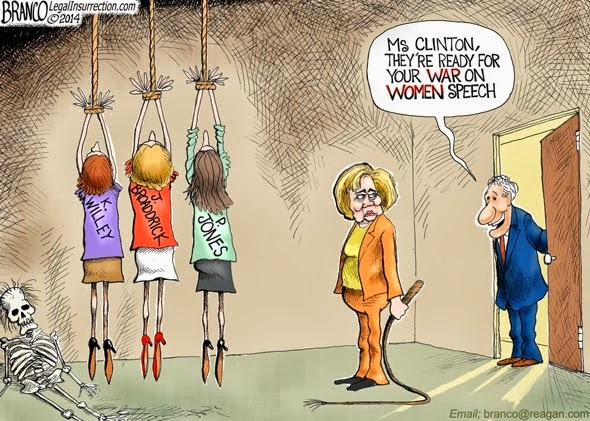 Hillary-Cartoon